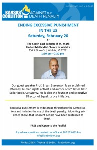 ENDING EXCESSIVE PUNISHMENT IN THE US: A TALK BY PROF. BRYAN STEVENSON